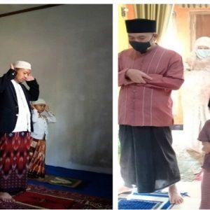 Warga MTs Muhammadiyah Karangkobar Lakakan Sholat Idul Adha Di Rumah Saja