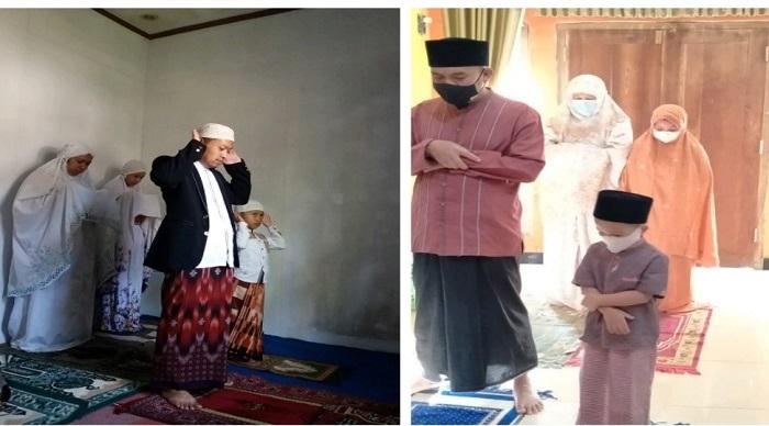 Sholat Idul Adha dari rumah saja