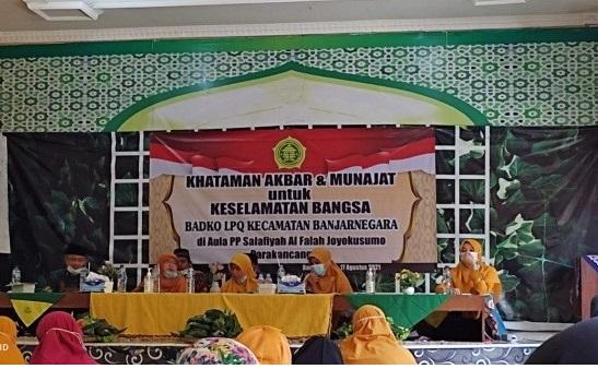 Doa keselamatan Badqo LPQ Kecamatan Banjarnegara