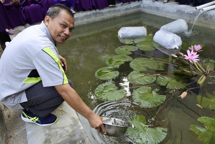 Budidaya Ikan Tawar MTs 1 Banjarnegara