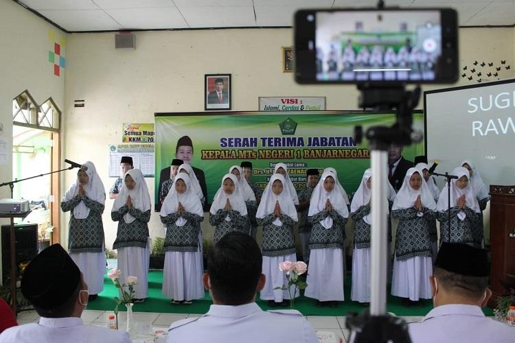 kelas tahfid MTs 1 Banjarnegara